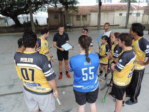Treino de Floorball - Invictus - EE Castorina @ EE Dona Castorina Cavalheiro | São Paulo | Brasil