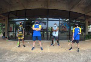 Treino de Floorball - Invictus @ Quadras Públicas da Lagoa do Taquaral | São Paulo | Brasil